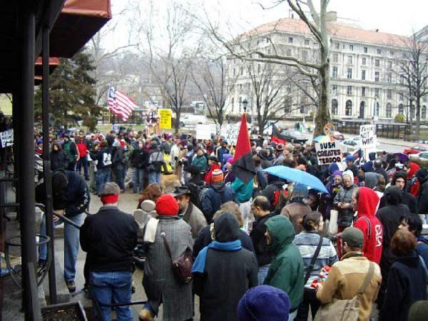 Rally at WPU...