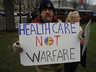 Healthcare not Warfa...