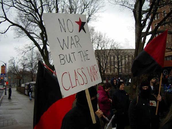 No war but the class...