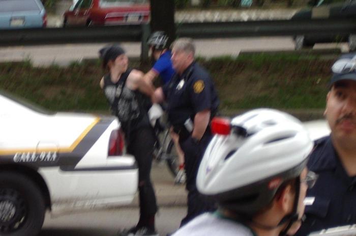 Rider Arrested...