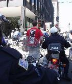 Police Turn Violent