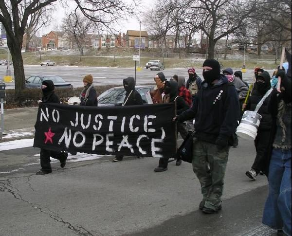 No Justice, No Peace...
