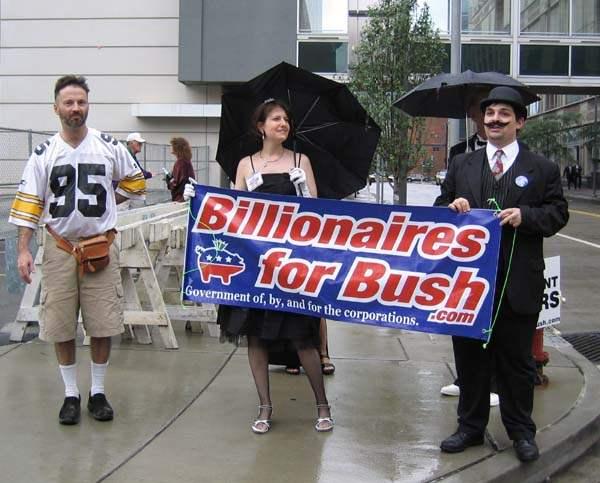 Billionaires for Bus...