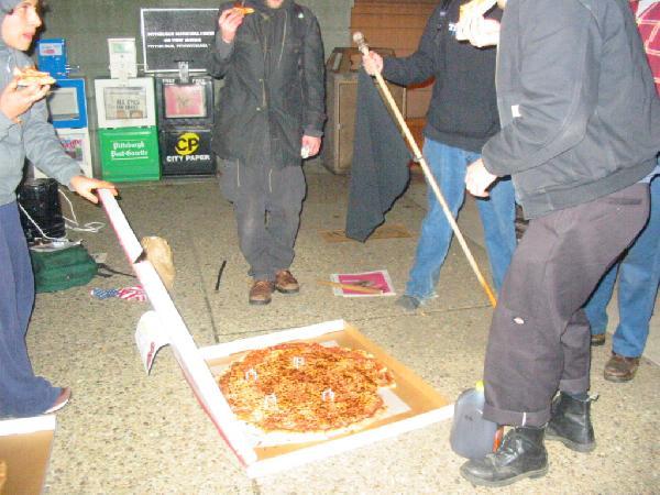 biggest pizza alive...