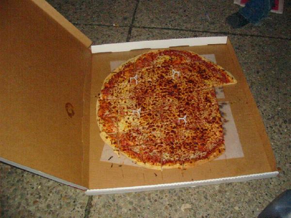 more pizza...