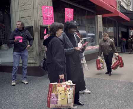 CodePink Buy Nothing...