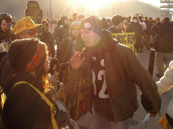 Steelers Fans Agains...