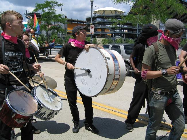 marching band/drums...