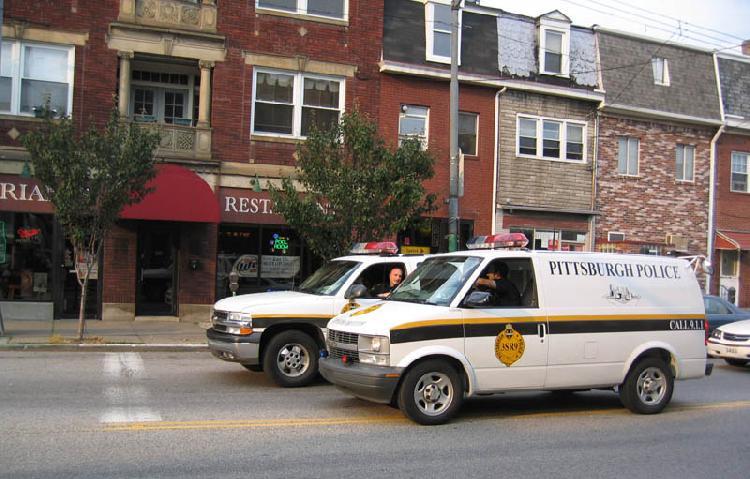 double cop car line...