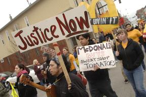 Protest  McDonalds i...