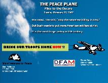 The Peace Plane flies to the Oscars