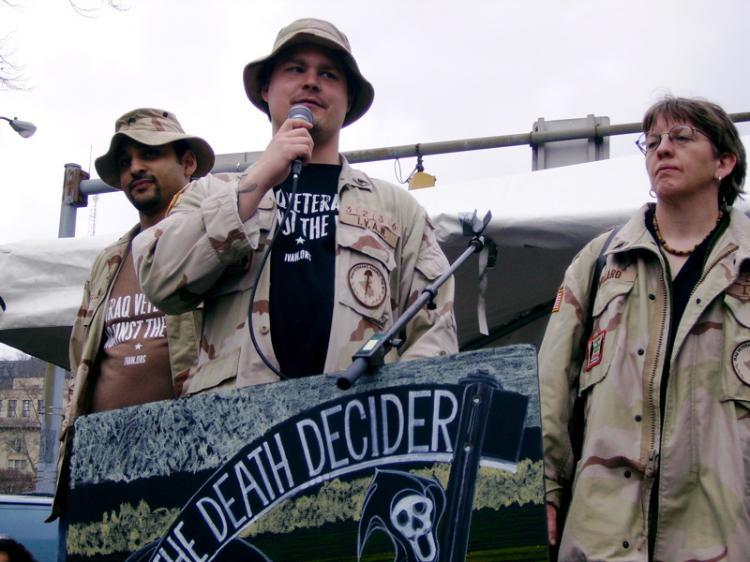 Three Iraq vets...