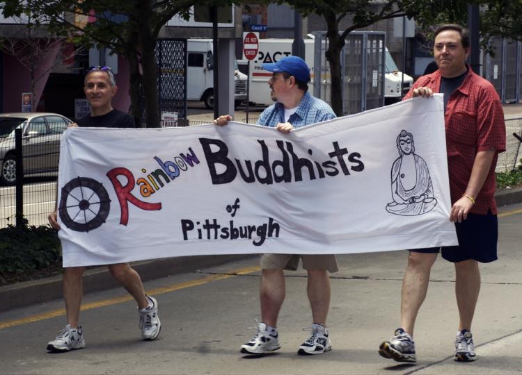 Rainbow Buddhists...