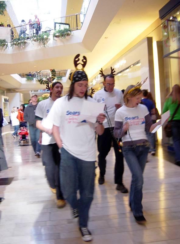 VFA Reindeer Protest...
