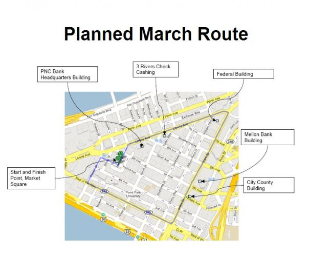March Route...
