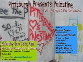 Pittsburgh Presents Palestine: A Night of Poetry, Plays & Performances