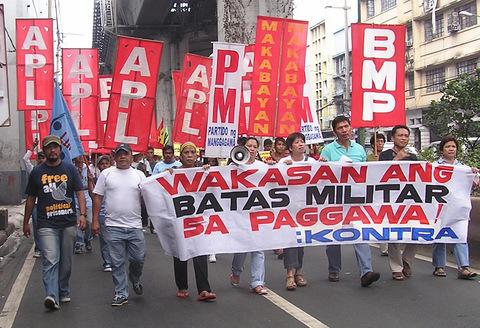 Filipino workers say...