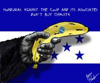 World boycott campaign to Chiquita for its support to Honduran coup d'etat