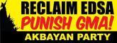 PHILIPPINES: Reclaim EDSA II, punish Gloria Macapagal Arroyo