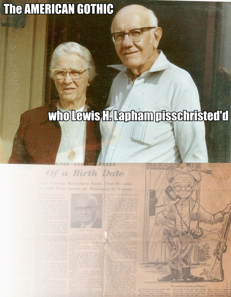 Lewis Lapham brutali...